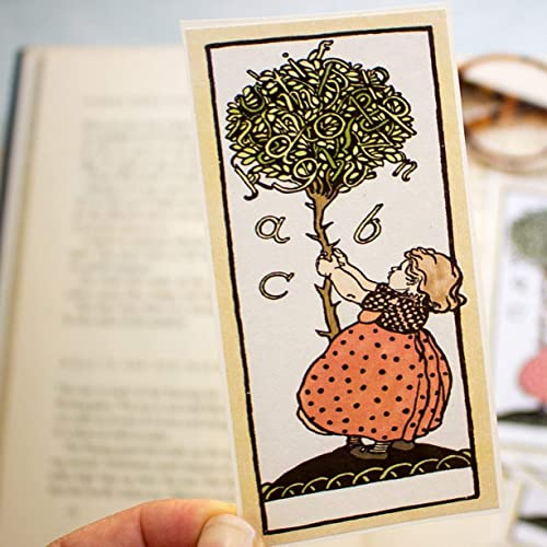 Bookplates for Childrens Books Self Adhesive Stickers Personalized Book Labels From the Library Of Set of 10