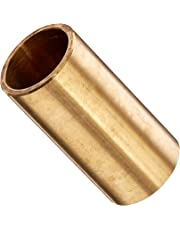 "Bunting Bearings CB101212 Sleeve (Plain) Bearings, Cast Bronze C93200 (SAE 660), 5/8"" Bore x 3/4"" OD x 1-1/2"" Length (Pack of 3)"