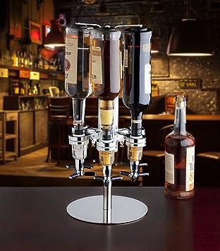 Godinger 6 dispensador de botella de licor, ideal para las vacaciones, fiestas, el regalo perfecto: Amazon.es: Hogar