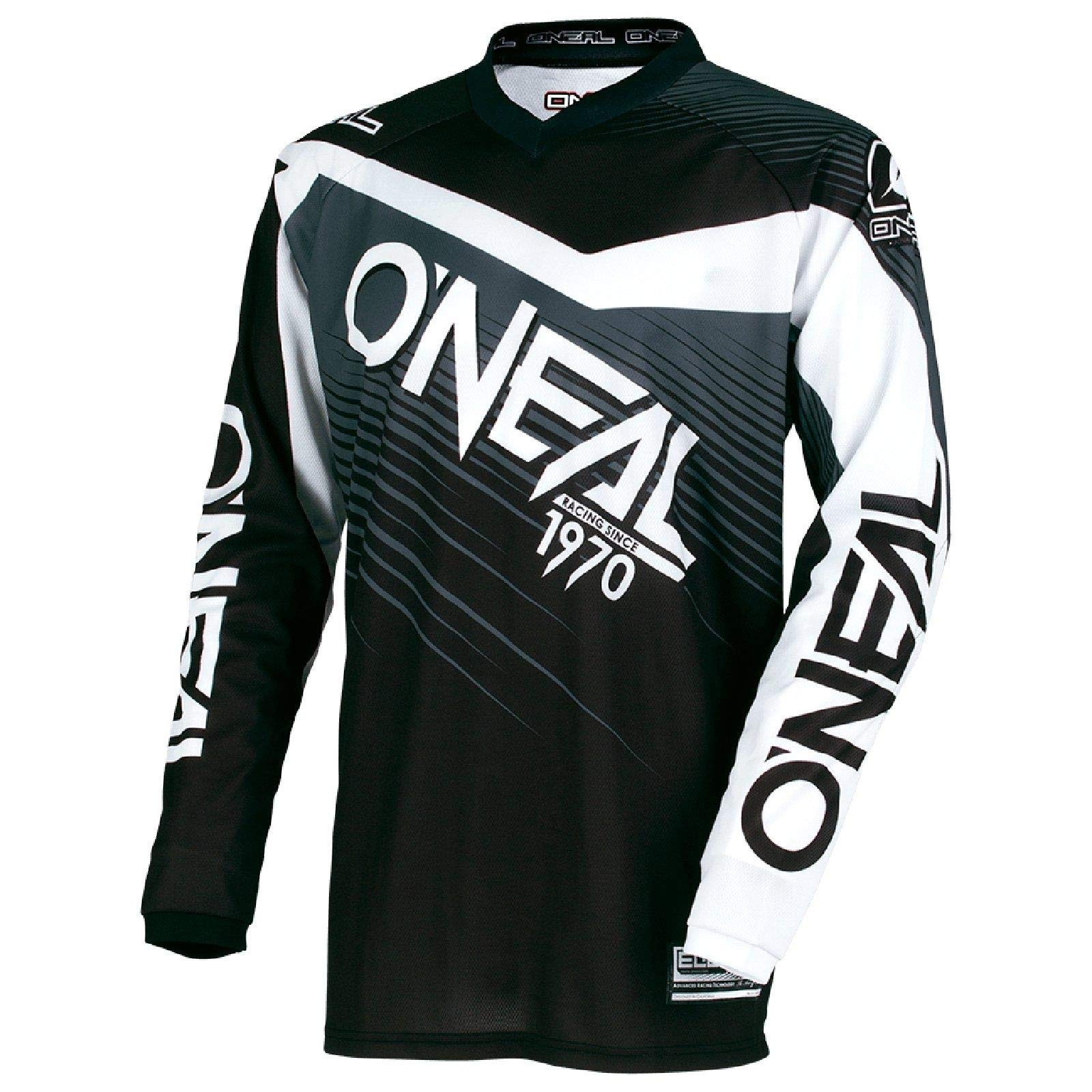 Oneal Element 2018 Racewear Motocross Jersey 4XL Black Gray 0008-108
