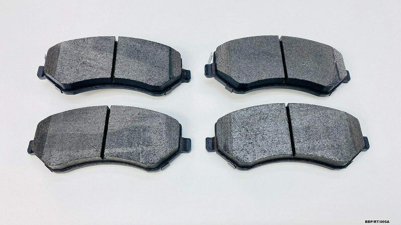 NEWTEK CERAMIC Front Brake Pads Voyager//Grand Voyager RT 2008-2015// Nitro 2007-2011// Journey 2009-2012// Cherokee Liberty KK 2008-2012// Wrangler JK 2007-2015