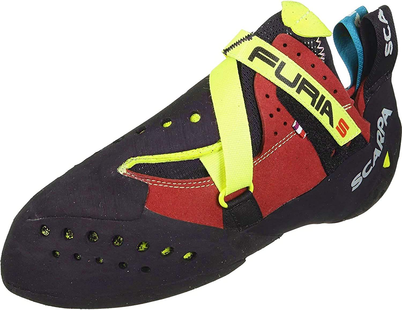 Scarpa Furia S Performance Rock Climbing Shoes Parrot//Yellow