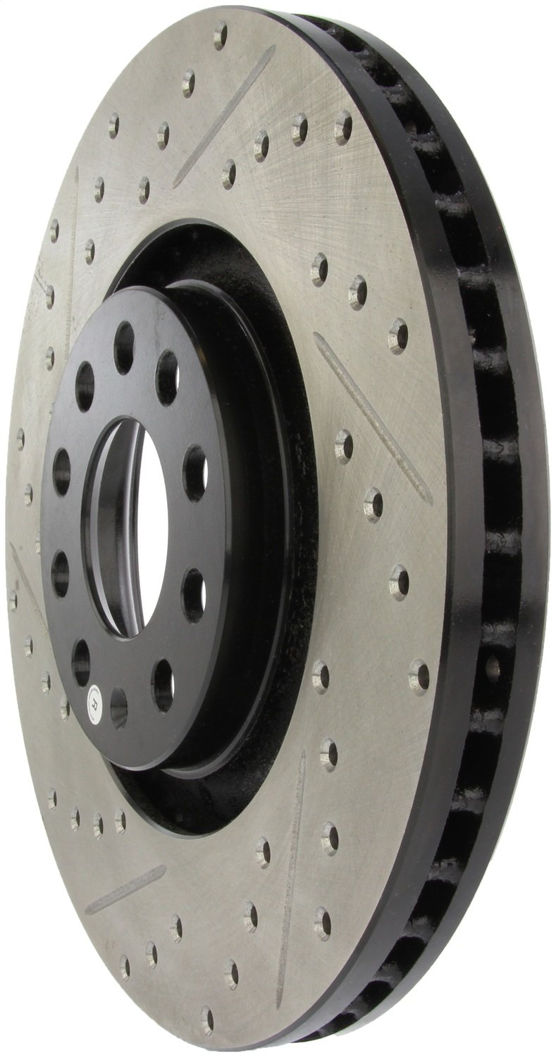 1 Pack Front Right StopTech 127.33096R Sport Drilled//Slotted Brake Rotor