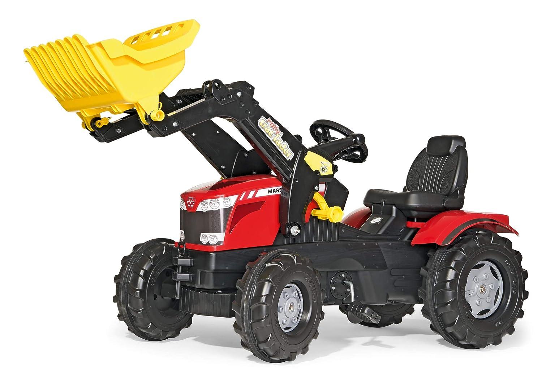 611133 Rolly Toys rollyFarmtrac MF 7726 Tretfahrzeug f/ür Kinder ab drei Jahre, Fl/üsterlaufreifen, verstellbarer Sitz, Front- und Heckkupplung