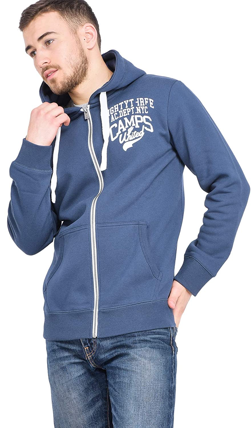 CAMPS UNITED Printed Hoodie Summer Collection Men