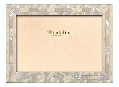 Amazoncom Natalini 8 X 10 Pearl White Wooden Frame Made In Italy