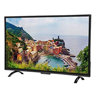 Hakeeta 32inch Large Curved HD Intelligent Television Curved Screen Smart TV, Supports WiFi USB HDMI RF Antenna.(TV Version)(US)