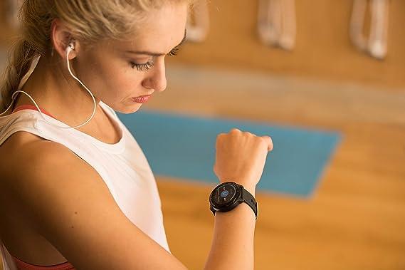 Garmin Smartwatch Vivoactive 3 Music GPS Mano Ciclismo Unisex Adulto, Negro y plata