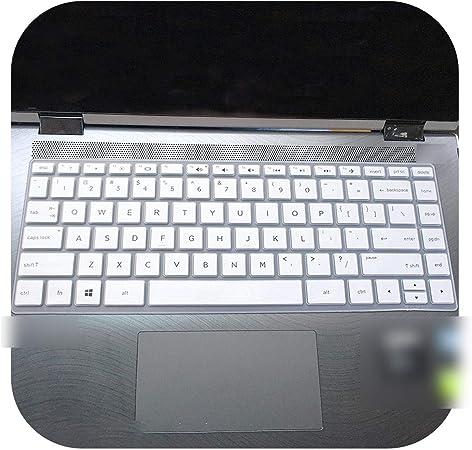 Funda de protección para teclado HP Pavilion X360 14 Cd0505Sa 14 Cd0077Tu 14 Cd0048Tx Cd1009Tx Cd0053Tx de 14 pulgadas para ordenador portátil, blanco