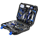 210-Piece Household Tool Kit, PROSTORMER General Home/Auto Repair Tool Set with Hammer, Pliers, Screwdriver Set, Wrench…