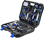 210-Piece Household Tool Kit, PROSTORMER General Home/Auto Repair Tool Set with