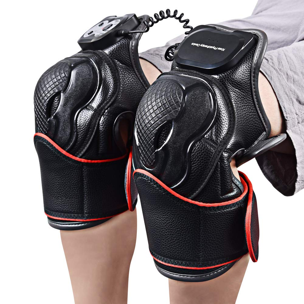 Heat Therapy, Knee Joints Massager for Pain Relief, Knee Wrap with Heat and Vibration, Physiotherapy Recovery Therapy, Ideal Gift for Mom/Dad/Men/Women