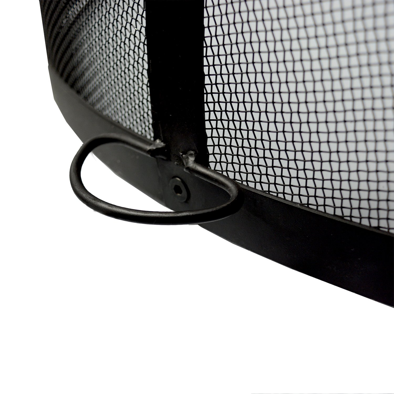 32-Inch Fire Pit Easy Access Spark Screen by Hampton's Buzaar (Image #6)