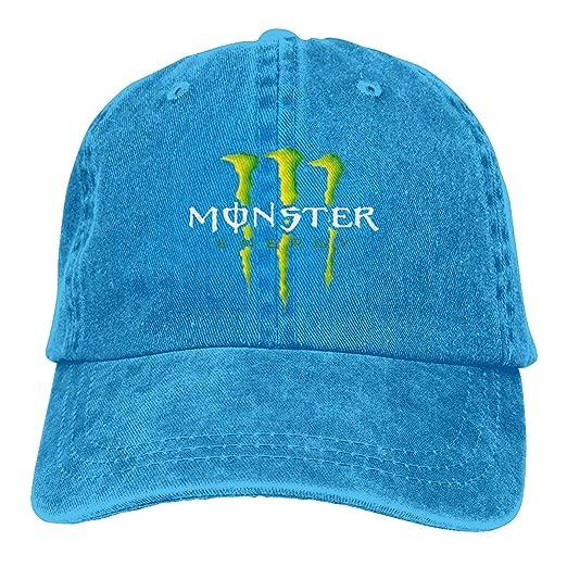SUZETTE MUNOz Gorra Ajustable de algodón con diseño de Monster ...