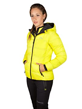 Grifone Atka - Chaqueta para mujer, color amarillo, talla L: Amazon.es: Deportes y aire libre