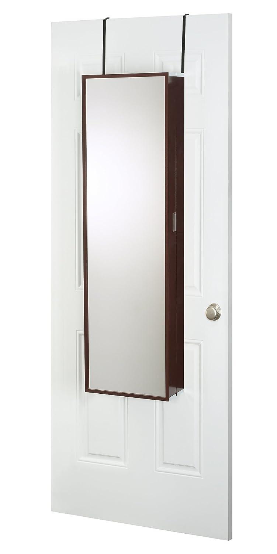 Amazon.com: Mirrotek Over The Door Beauty Armoire And Makeup Organizer:  Home U0026 Kitchen