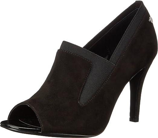 Calvin Klein Kena Black Microsuede/Elastic Women's Shoes Size ...