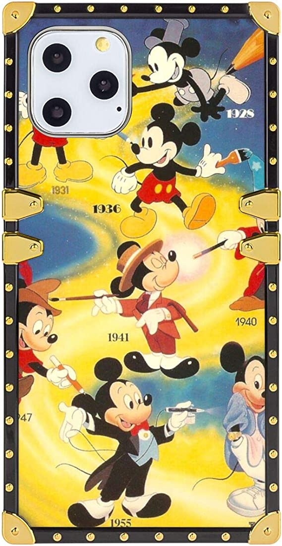 Mickey Mouse Wallpaper Square Edge Case Cover Compatible With Iphone 11 Pro Max 2019 6 5inch Amazon Ca Cell Phones Accessories
