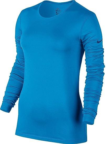 7b4792f8 Amazon.com : Nike Womens Pro Warm Long Sleeve Shirt : Clothing