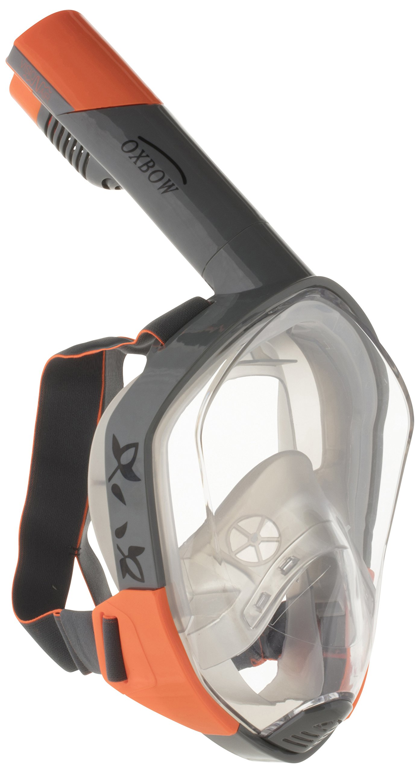 OxbOw Visio 'n 'Air ® Panoramic Mask 3 Generation Snorkel Mask, Unisex, VISIO-n-AIR Panoramamaske 3 Generation