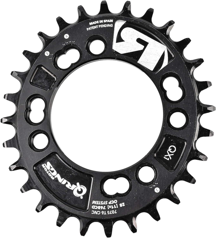 Rotor C01 – 019 – 25020 Dichtungsstreifen a-0 Tablett für Fahrrad Unisex Erwachsene, schwarz