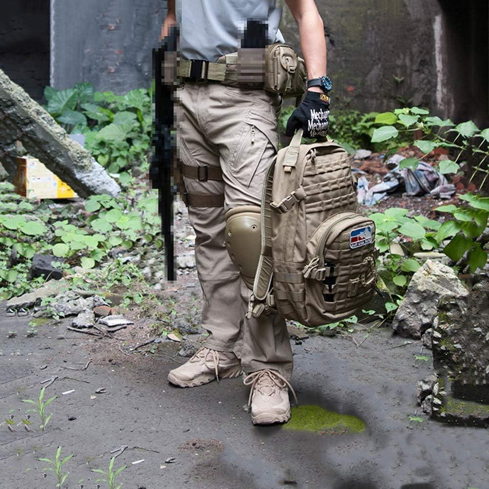 CARWORNIC Gear Men's Assault Tactical Pants Lightweight Cotton Outdoor Military Combat Cargo Trousers: Clothing