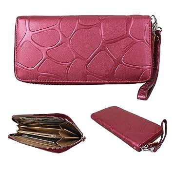 Damen Lang Geldbörse Portemonnaie Clutch Leder Geldbeutel Brieftasche Handtasche