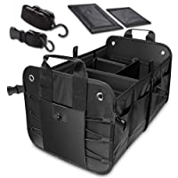 Amazon.com deals on Evilarom Durable Collapsible Adjustable Compartments Car Trunk