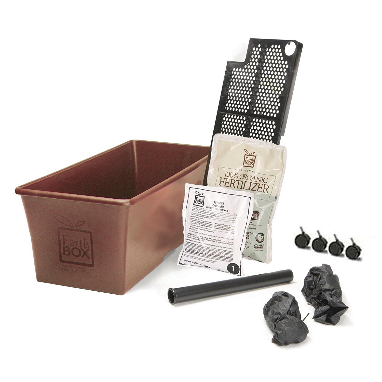 Earthbox Organic Terra Cotta Kit, Pack of 2 Planters