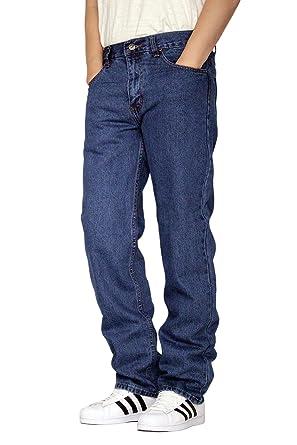 d7a024ed5e8 Oscar Men's Regular Fit Straight Leg Denim Jeans - 8 Colors (30X30, Stone  Wash
