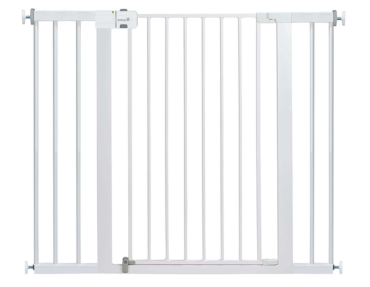 Safety 1st Easy Install Extra Tall and Wide Baby Gate with Pressure Mount Fastening GA106WHO1