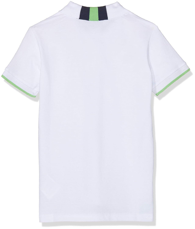 Brums Jungen Polo Piquet Collo Rigato Poloshirt