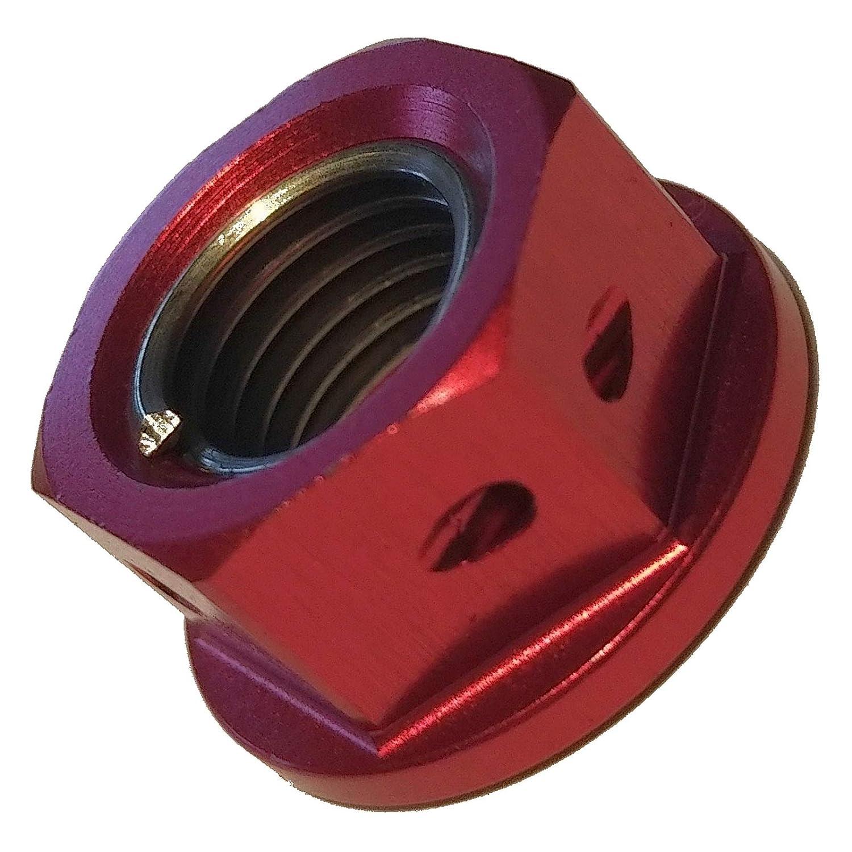 5x Kettenrad Mutter rot M10 GSX 1400 2002-2007