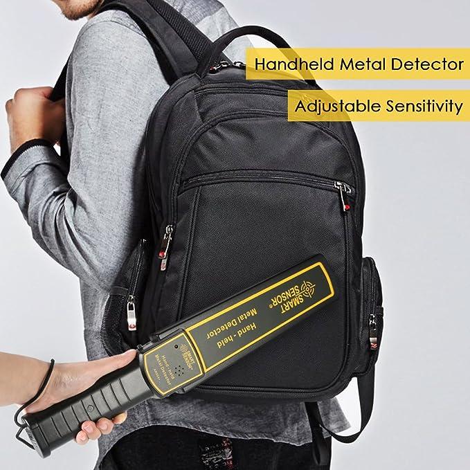 KKmoon alta sensibilidad Handheld Detector de metales: Amazon.es: Bricolaje y herramientas