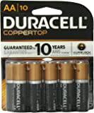 Duracell Coppertop Aa Batteries 10 Count