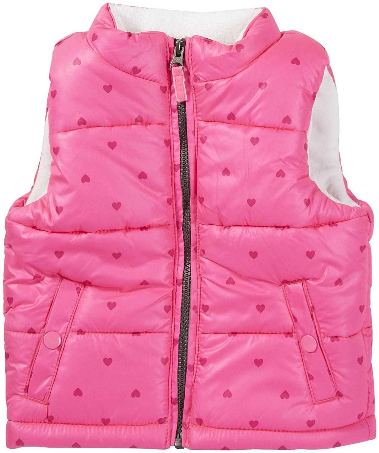 Carter's Little Girls' Quilted Vest Pink)