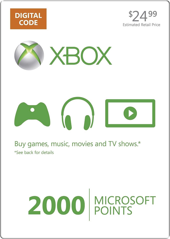 Amazon com: Xbox LIVE 1600 Microsoft Points - Xbox 360