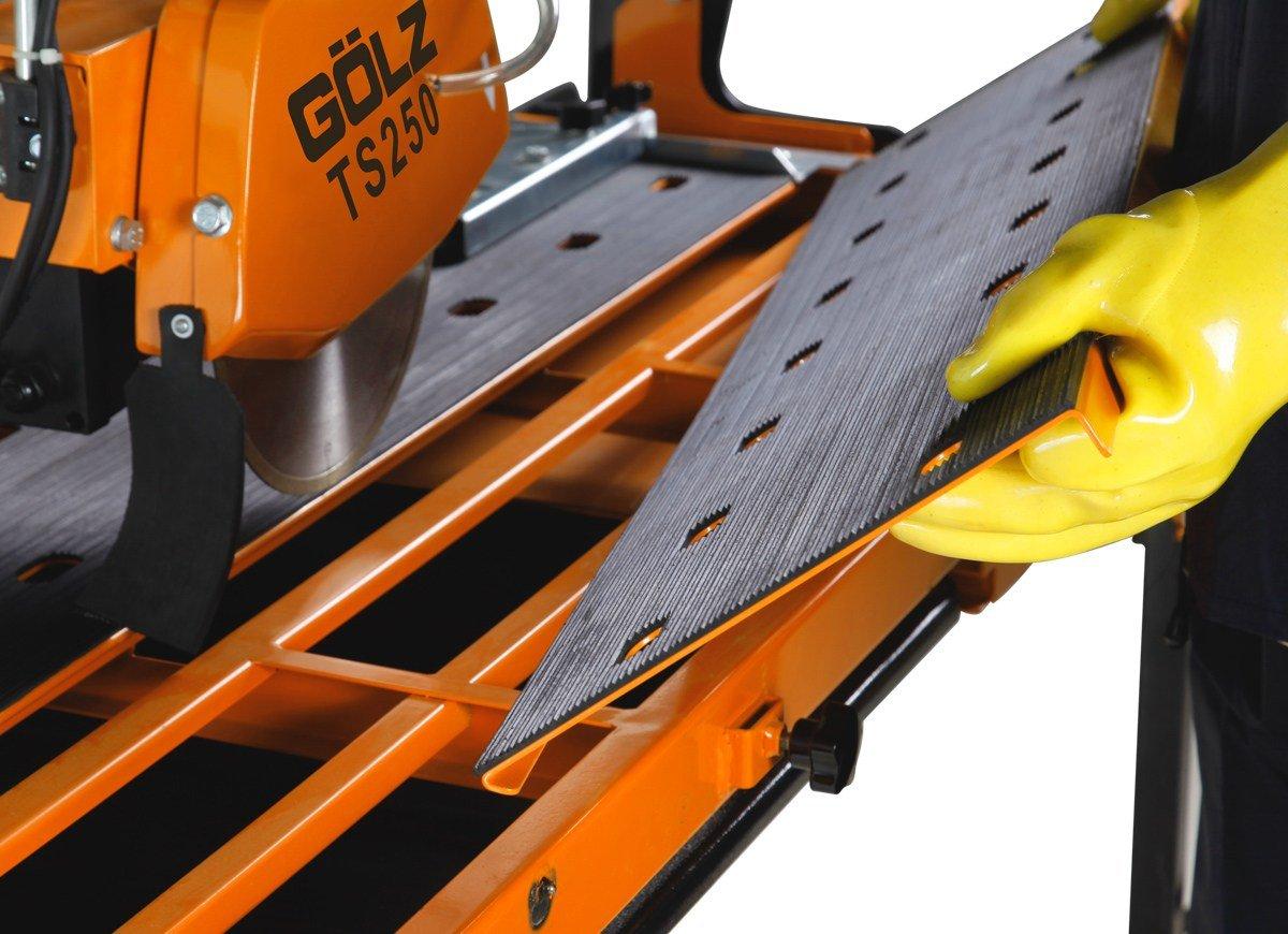 Made in Germany Fliesenschneidmaschine f/ür die professionelle Anwendung! Br/ückenkopf G/ÖLZ TS-200