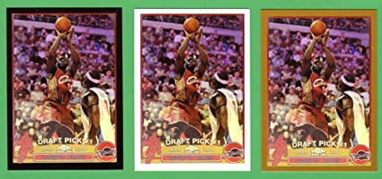 Lebron James 2003 04 Topps Chrome Basketball Rookie Reprint 3 Card