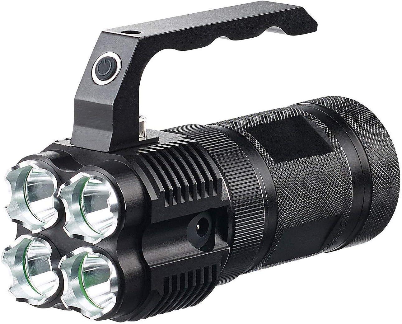 Linterna LED para Bicicleta con batería: Foco LED Manual TRC 4.4 A ...