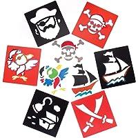 Baker Ross Plantillas de piratas (pack de 6)