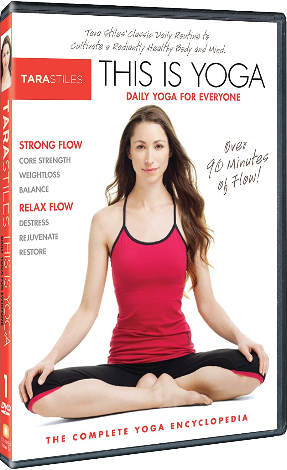 Tara Stiles This is Yoga DVD 1: Daily Yoga for Everyone ...