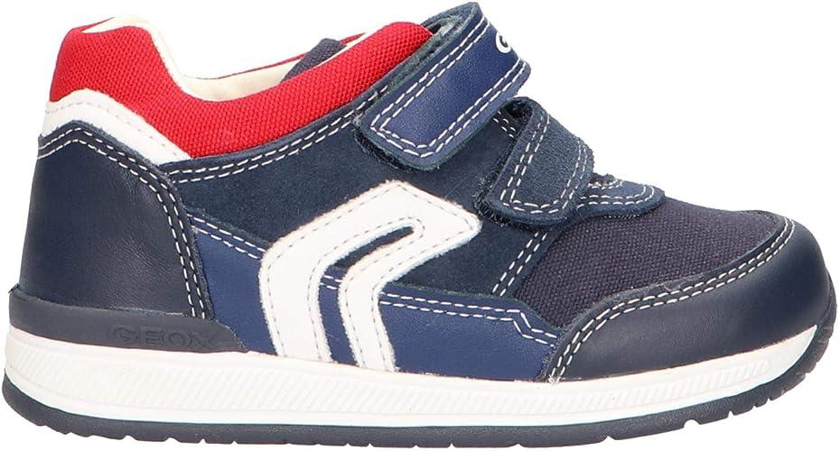 Geox B Rishon Boy B Sneakers Basses b/éb/é gar/çon
