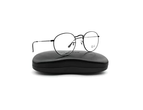 ea7c4ebf30 Image Unavailable. Image not available for. Color  Ray-Ban RX3447V 2503  Round Metal Unisex Eyeglasses ...