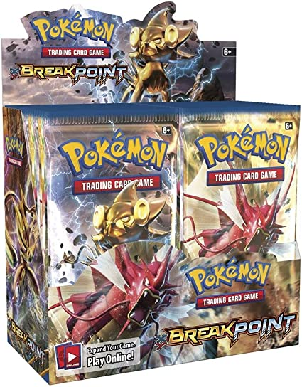 Various Breakpoint Pokemon Trading Cards