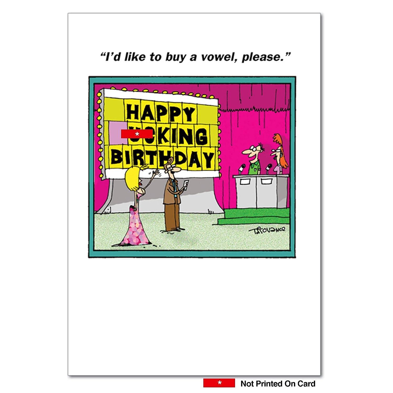 Amazon 6291 Senior Jeopardy Naughty Humor Birthday Greeting