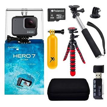 Amazon.com: GoPro Hero 7 - Cámara de acción, color plateado ...