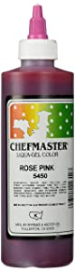Chefmaster Liqua-Gel Food Color, 10.5-Ounce, Rose Pink
