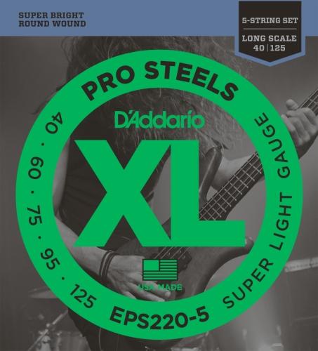DAddario EPS220-5 Juego de Cuerdas, Transparente: Amazon.es: Instrumentos musicales