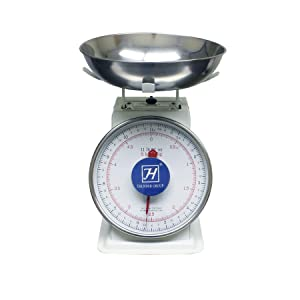 Thunder Group SCSL103, 11 Lbs Chinese Cattis Scale, Multifunction Kitchen and Food Scale, Stainless Steel Mechanical Measuring Commercial Grade Portion-Control Scales